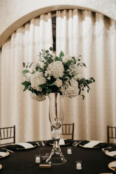 [Image: Reception arrangements by Exotica the signature of flowers- at Madera Estates