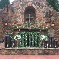 Outdoor Ceremony Flower by Exotica the signature of flowers- at Madera Estates