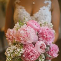 Spring Floral Bouquet using Peony's and Lilac
