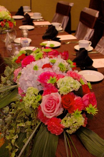 Don't leave your tables bare! Let us create beautiful flowers to enhance the beauty of your event.